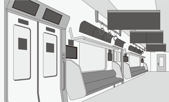広告貸切電車1