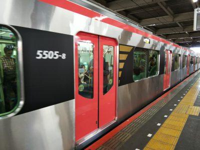 京成高砂駅で電車ウォッチング。都営浅草線の新型車両にわくわく!!の巻